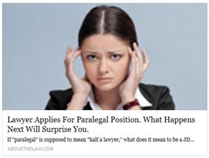 half a lawyer??